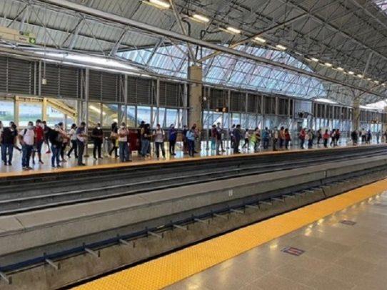 El Metro ampliará sus horarios tras eliminación de salida por número de cédula