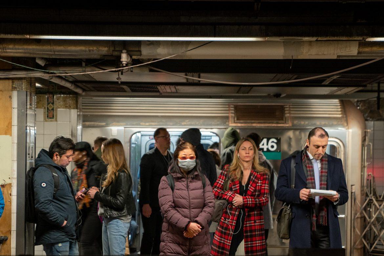 Vacunas gratis contra el covid en el metro de Nueva York