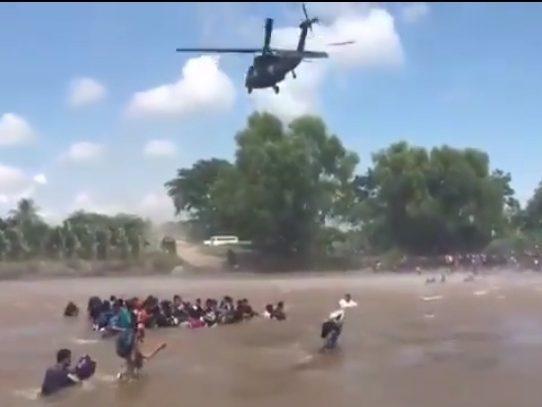 Nueva ola de migrantes atraviesa frontera entre Guatemala y México
