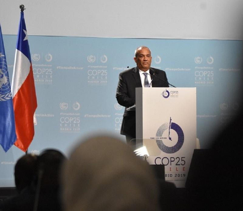 Panamá destaca en el COP25 el fortalecimiento de su agenda climática