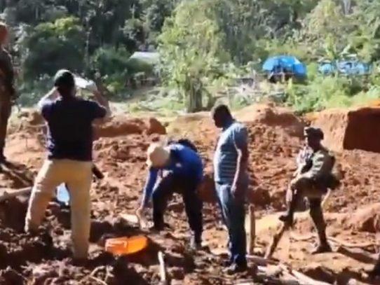 Desmantelan organización dedicada a la minería ilegal en Darién