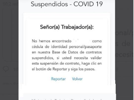 Mitradel enfrenta ola de fallas en registro de contratos suspendidos