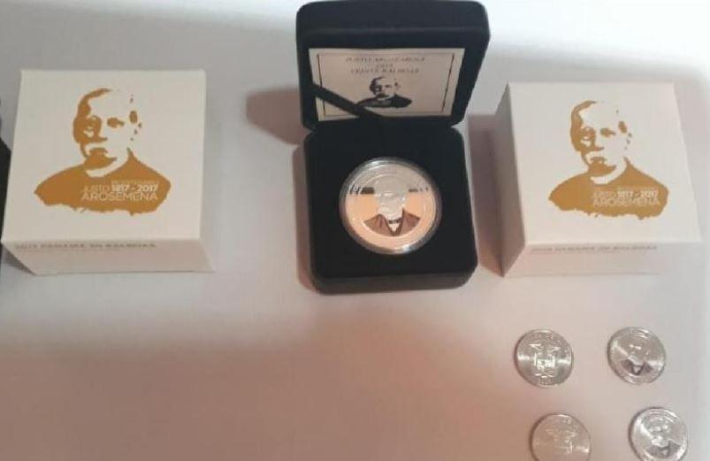 Comienzan a circular monedas alusivas al bicentenario del Dr. Justo Arosemena