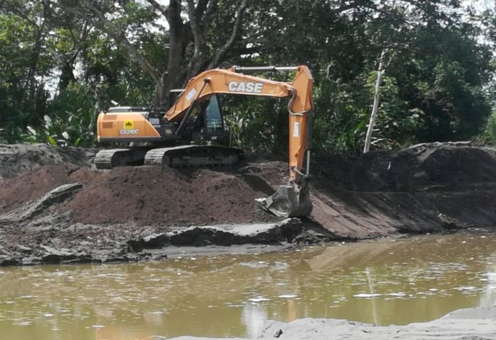 Inician trabajos de dragado del Río Chico en la provincia de Chiriquí