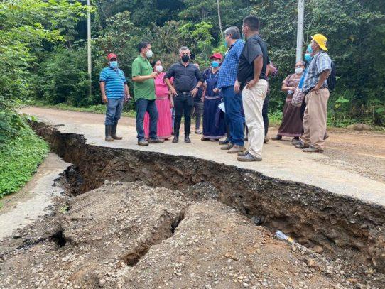 Gobierno destinará 16 millones para atender puntos críticos en la comarca Ngäbe