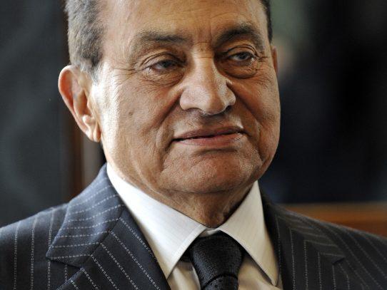 Fallece el exdictador egipcio Hosni Mubarak
