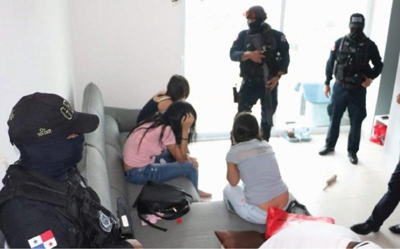 Panamá rescata a mujeres de Colombia, Cuba y Costa Rica, víctimas de trata de personas