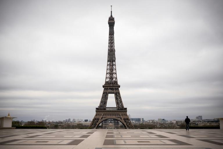 La frecuentación de la Torre Eiffel en caída libre por la crisis sanitaria