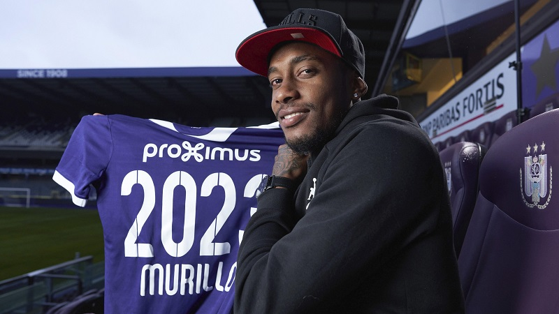 El panameño Michael Amir Murillo, nuevo jugador del Anderlecht
