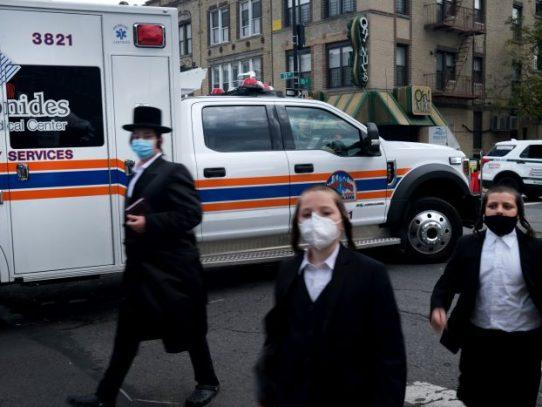 La tasa de contagio del coronavirus comienza a aumentar en Nueva York