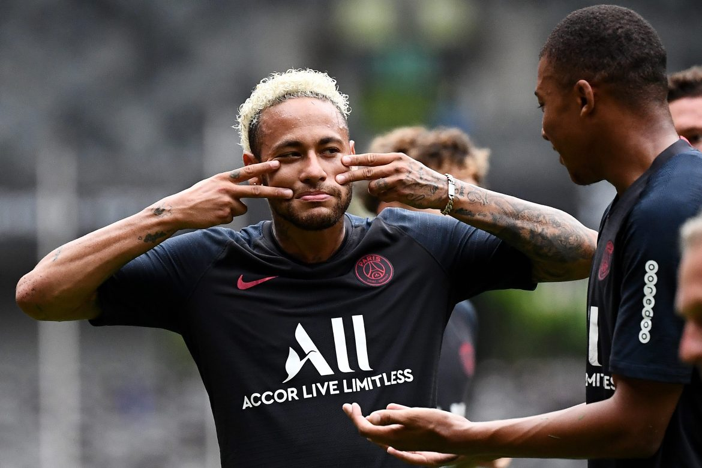 Neymar y Di Maria en convocatoria del PSG contra Marsella