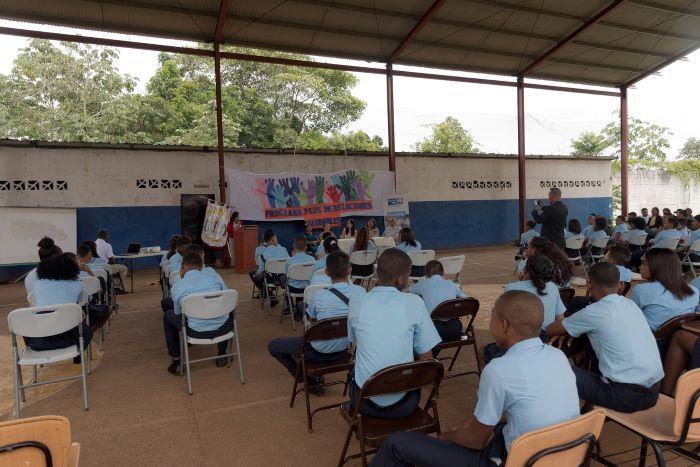 Programa de prevención beneficia a 2 mil niños en Samaria y Pedregal