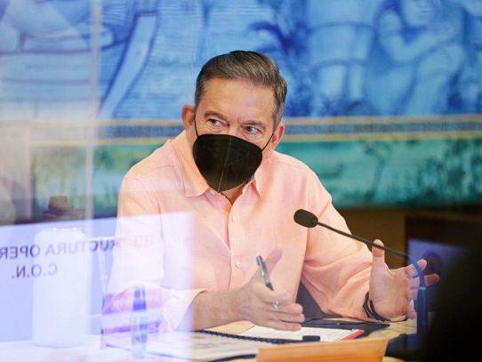 Presidente Cortizo se somete a aislamiento domiciliario