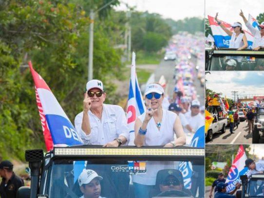 Cortizo recorre Alanje, Puerto Armuelles y Bugaba en recta final de su campaña