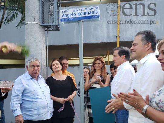 Calle de Parrillada Jimmy se llamará Angelo Koumanis en homenaje póstumo a su creador