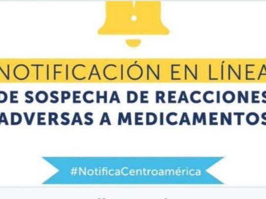 Habilitan portal para notificar en línea reacciones adversas a medicamentos