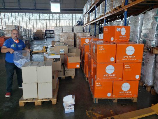OMS envía desde Panamá equipos de protección contra el coronavirus a 13 países