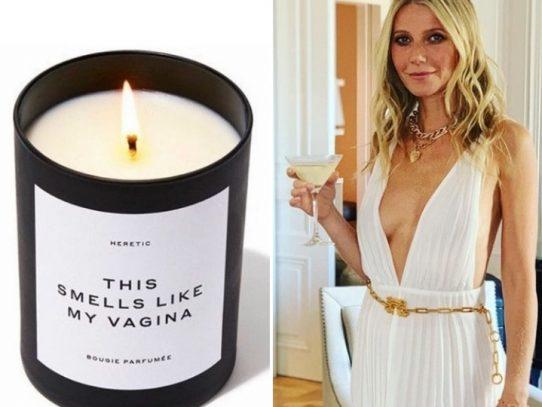 """La actriz Gwyneth Paltrow vende vela aromática """"que huele a su vagina"""""""