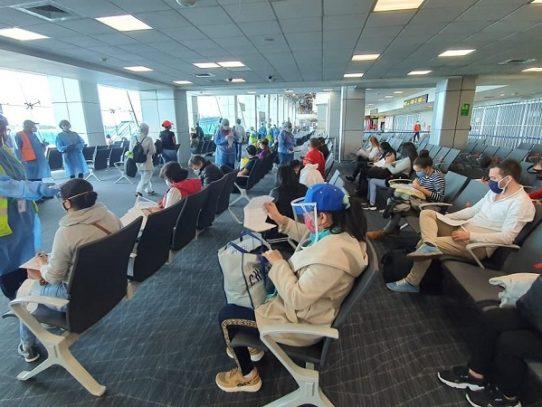 Repatriados 117 panameños desde Colombia
