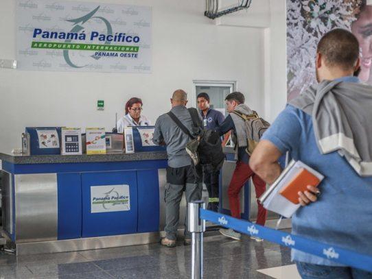 Crece tráfico de pasajeros en aeropuertos regionales de Panamá