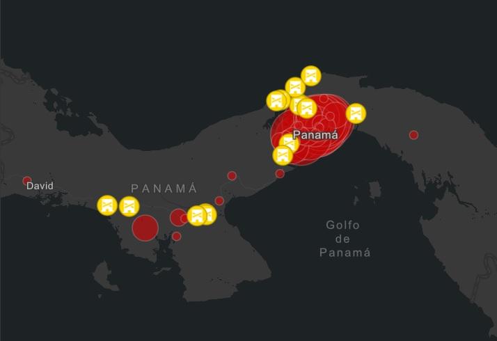 Panamá acumula 313 casos de coronavirus y autoridades consideran la cuarentena total