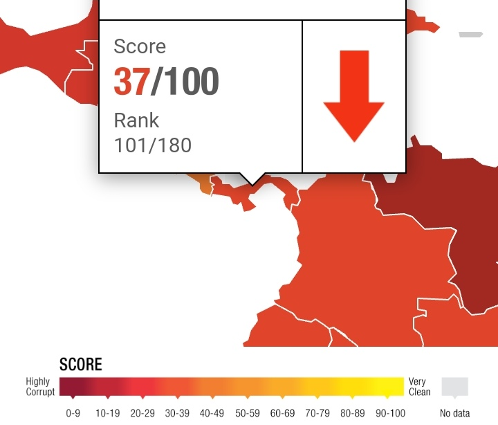 Panamá estancada entre países con percepción de corrupción