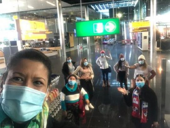 Panameños en Europa emprenden vuelo de regreso a casa