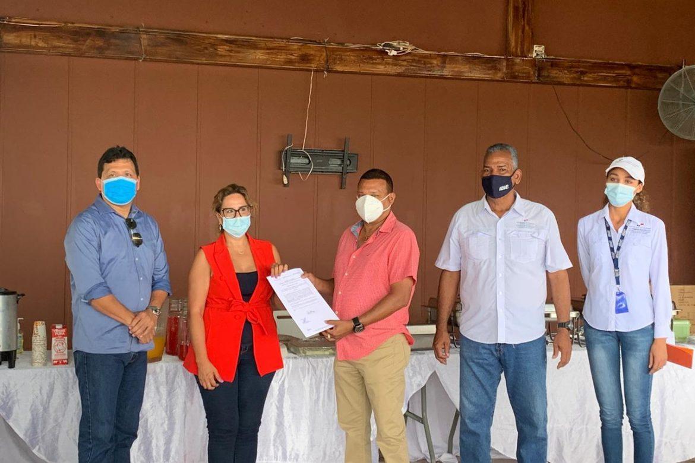 Emprenden producción de 40 hectáreas de camarones en finca ubicada en Boca Parita