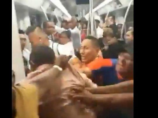 Sancionados por pelear en el Metro de Panamá