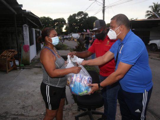 Alcaldía atiende a 54 familias afectadas por las lluvias en Puente del Rey, Panamá Viejo