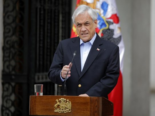 Piñera levanta estado de emergencia en Chile a partir de esta medianoche
