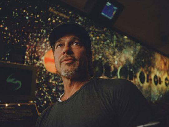 Brad Pitt, entre estrellas y planetas