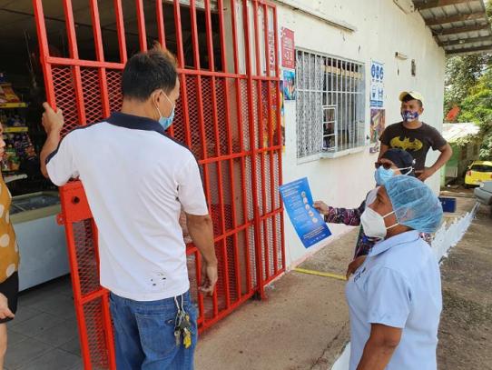 Equipos de Trazabilidad dan seguimiento a positivos de Covid-19 en Panamá Oeste