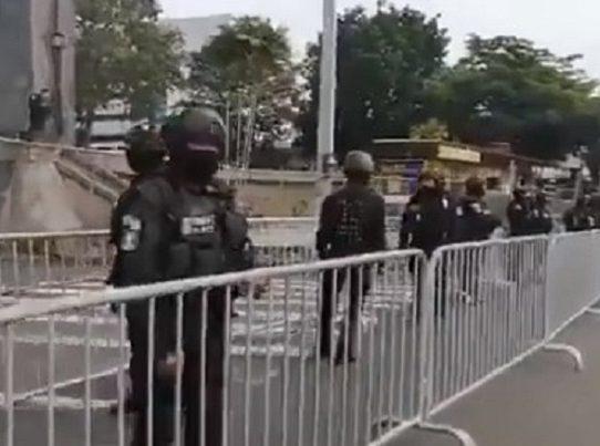 """""""Teníamos advertencia de agitadores"""", Director de la PN justifica cerco en la Asamblea"""
