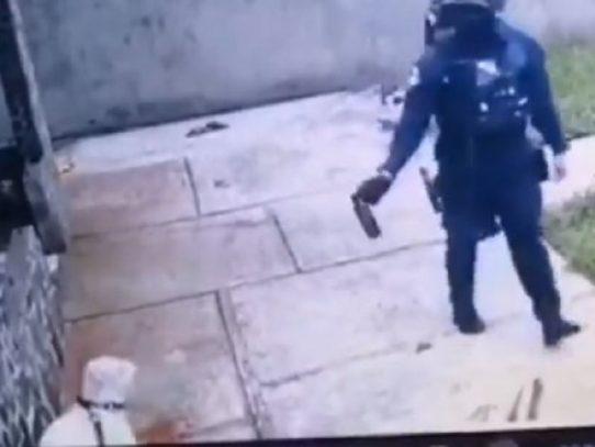 Policía investiga incidentes en una residencia en Pedregal