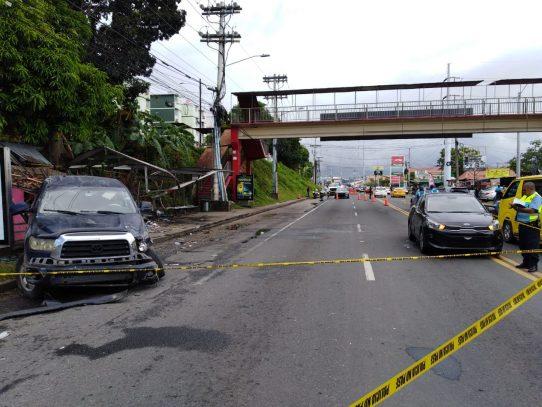 Dos personas fallecidas por el accidente en Villa Lorena