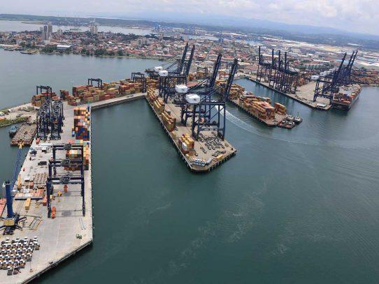 Volúmenes del sistema portuario panameño mermó por huelga ilegal de julio pasado
