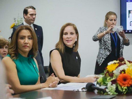 Primera Dama de Panamá destacó en EE.UU. los avances de su gestión