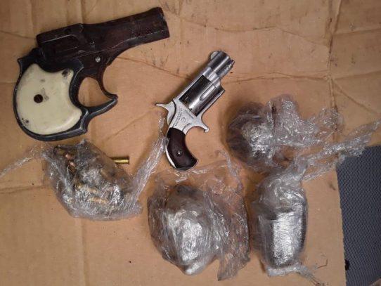 Decomisan armas de fuego, platinas  y drogas en cárcel La Nueva Joya