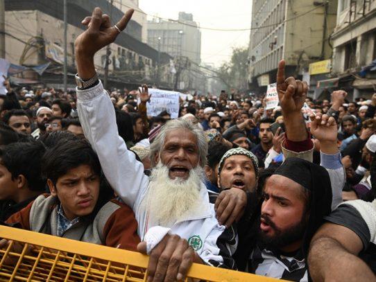 Nuevos enfrentamientos en India en las protestas por la ley de ciudadanía