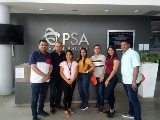 Estudiantes de Universidad colombiana visitan Terminal Internacional de PSA Panamá