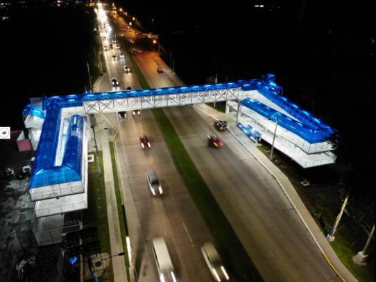 Finalizan obras del puente de la UTP a un costo de $1,735,272.50.