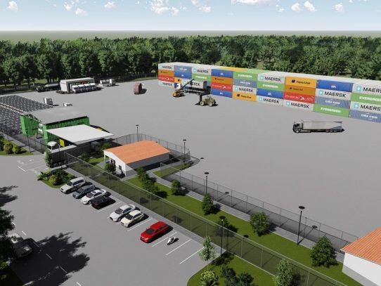 Primer Puerto Seco de Divalá, un paso más en el desarrollo logístico del país
