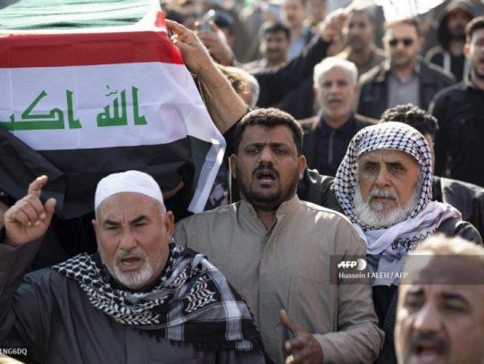 Marea humana en Irán para despedir al general Soleimani