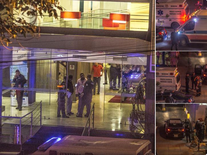 Vega Pino lamenta muerte de agente Gary Hernández en hotel de Vía Argentina