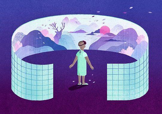 La realidad virtual como terapia para el dolor