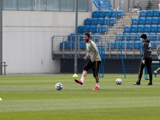 El Real Madrid vuelve a entrenar