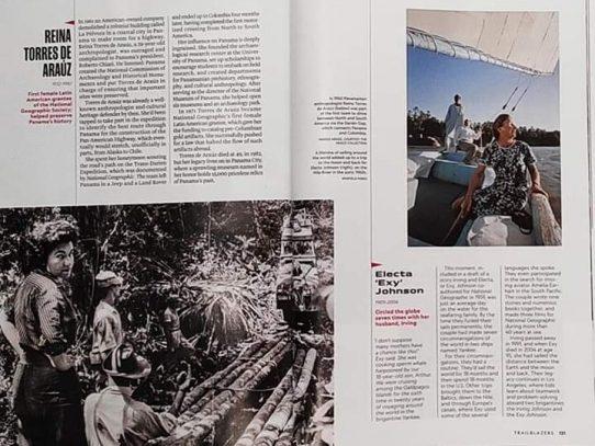 Reina Torres de Araúz, elegida por National Geographic entre 20 mujeres pioneras de la exploración