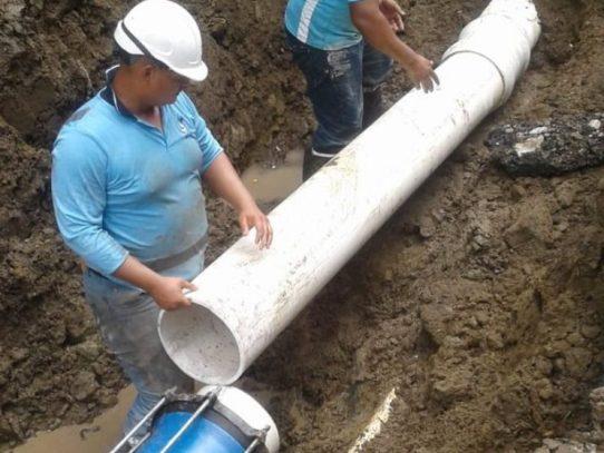 Sectores de Panamá Norte sin suministro de agua por trabajos en Gonzalillo
