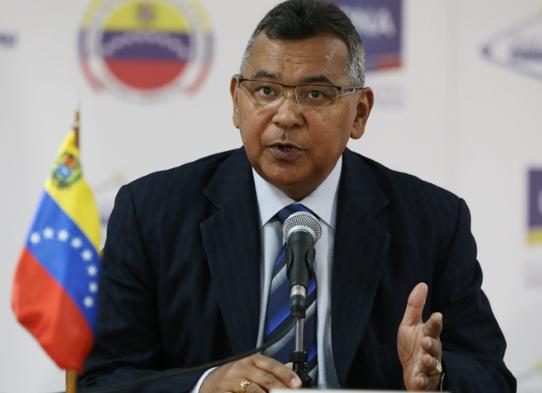 Maduro otorga máximo rango militar a alto funcionario sancionado por UE y EEUU